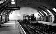 January 2013 has marked the 150th Anniversary of the first of the London Underground lines – the Metropolitan opened in January 1863 between Paddington and Farringdon. The event was marked by the running – in passenger service – of steam-hauled trains through the tunnels over the original route, through Baker Street station. Photo credit to Peter Zabek