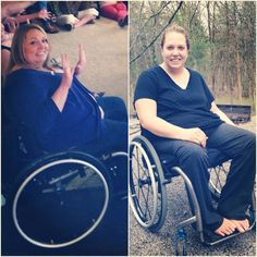 Pin for Later: The Most Incredible Facebook Miracles of 2014 A Wheelchair Didn't Stop This Woman From Her Weight-Loss Goals