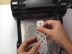Stampin UP - Comment faire des bannières. Création de cartes http://jardindepapier.com