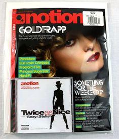 Notion Magazine Sept 2005 Goldfrapp Sunshine & Love Princess Superstar Hard-Fi Sunshine Love, 45 Records, Music Magazines, Cover Model, Hard To Find, Superstar, Princess, Ebay, Princesses