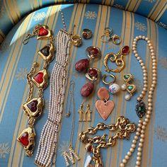 Cute Jewelry, Jewelry Box, Jewelry Accessories, Fashion Accessories, Fashion Jewelry, Unique Jewelry, Bijou Brigitte, The Bling Ring, Accesorios Casual