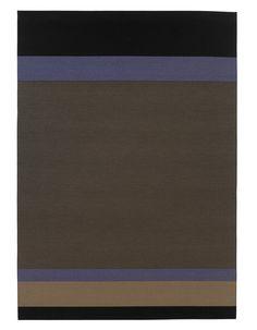 Woodnotes paper yarn carpet Panorama col. black-antique.