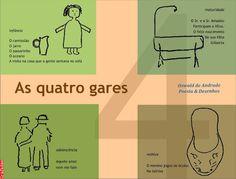 Grafados: Oswald de Andrade - As Quatro Gares (The four station)