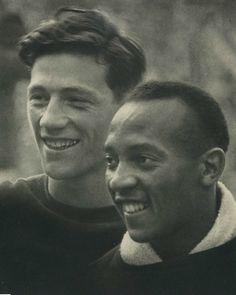 Carl Ludwig Long & Jesse Owens