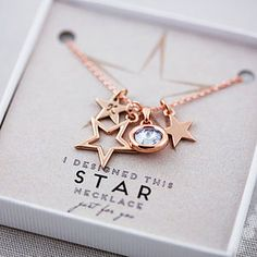 Design Your Own Star Necklace - gifts for friends