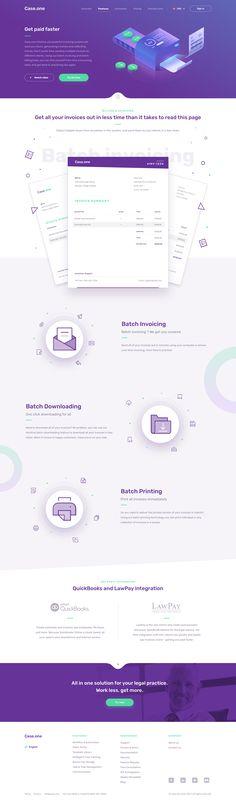one - Billing and Invoicing – Inspire Design Flat Web Design, Web Design Trends, App Design, Report Design, Design Ideas, Website Design Layout, Homepage Design, Layout Design, Website Designs