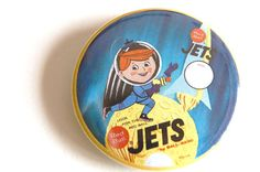 Jets Retro Ad 2.25 Pinback Button by retroattack on Etsy, $4.00