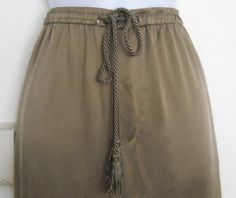 Dana Buchman Brown Lined Silk Womens Pants Size 4 -Great fall pants- and super comfy! on eBay $14.00 #guysbizgiftworld