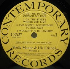 SHELLY MANNE My Fair Lady