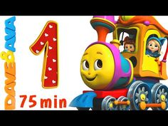Numbers Song Collection | Number Train 1 to 10 | Counting Songs and Numbers Songs from Dave and Ava - YouTube