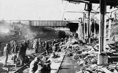 Coventry station after the war. rebuilt i took a train alone from coventry to Heysham before I was 10 in the 70's, to see my Gran at the beach . How times have changed!!