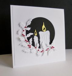 Candles by sistersandie - Cards and Paper Crafts at Splitcoaststampers