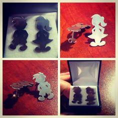 Aros de plata 950 diseño Niños #hechura #hechoamano