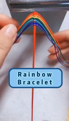 Diy Crafts To Do, Diy Crafts Hacks, Diy Crafts Jewelry, Bracelet Crafts, Diy Arts And Crafts, Diy Bracelet Designs, Diy Bracelets Patterns, Diy Friendship Bracelets Patterns, Diy Bracelets Easy