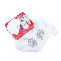 Silly Souls True Love 4-Piece Gift Set, White/Silver