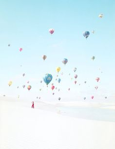 Heiße Luft, balloons 2 - Julia Christe - pictures, photography, photo art online at LUMAS