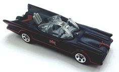 2015 Hot Wheels 60's Tv Batman - Batmobile - Walmart Only! George Barris - Loose from $2.99