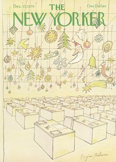 The New Yorker - Monday, December 17, 1979 - Issue # 2861 - Vol. 55 - N° 44 - Cover by : Eugène Mihaesco