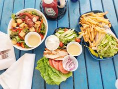 Let's Eat: NAPLES, FLORIDA {on a budget} – Nourish Through Movement Beer Battered Fish Tacos, Lamb Gyros, Italian Chopped Salad, Eat On A Budget, California Pizza, Great Recipes, Healthy Recipes, Tomato Bisque, Fish Sandwich