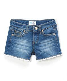 Take a look at this Medium Blue Denim Shorts - Girls today!