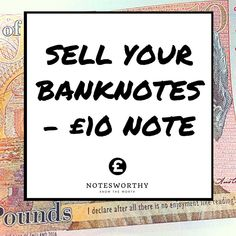 Banknote auctions continue to grow in popularity and importance with collectors across the world.  Not only are they now a key part of the collectables industry banknote auctions are also the best way to achieve the maximum possible returns when it comes to selling all types of paper money.  If you think your Ten Pound banknotes might be worth more than its face value the quickest way to sell it on eBay.  #tenpound #banknotes #tenpoundnote #tenpounds #currency  Check out notesworthy.co.uk…
