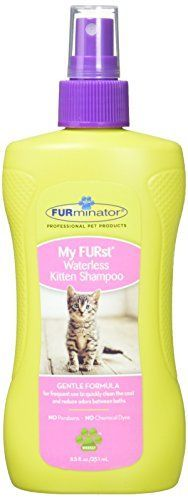 FURminator My FURst Waterless Kitten Shampoo * You can find out more details at the link of the image.