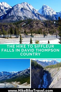 The Hike to Siffleur Falls in David Thompson Country, Alberta