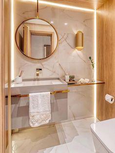 Washroom Design, Bathroom Design Luxury, Home Interior Design, Interior Architecture, Small Space Bathroom, Bathroom Design Small, Bathroom Pink, Decoration Design, Deco Design