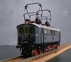 DRG/ドイツ帝国鉄道【古典型ロッド式 電気機関車】MINITRIX_画像1