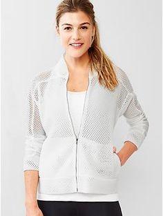 GapFit mesh full-zip jacket