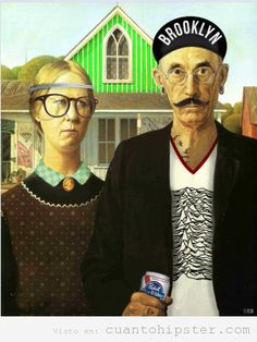 hipster american gothic