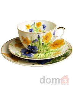 Daffodil Cup and Saucer