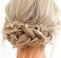 Short Prom Hairstyles With Braids
