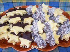 kókuszos-vaníliás csillagok