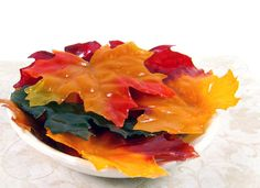 Celebrate autumn: Silk Soap Leaves.  FREE step-by-step tutorial in the Crafting Library at http://RusticEscentuals.com