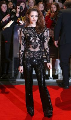 How to Look Chic in a Jumpsuit... Kristen Stewart