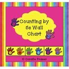 $2.75 Counting by 5s Wall Chart  Decorate your classroom with this useful counting by 5s wall chart. It comes with a coloured background or you ...