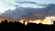 Hertfordshire sunset