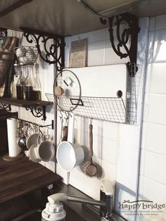 20150708_comehomeキッチンDIY_05 Track Lighting, Ceiling Lights, Kitchen, Home Decor, Cooking, Decoration Home, Room Decor, Kitchens, Outdoor Ceiling Lights