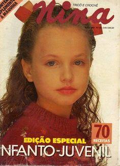 Revista TRICÔ CROCHÊ NINA - Receita Tricô Fácil