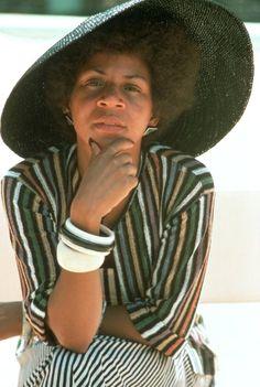 Singer Minnie Riperton(mother of actress Maya Rudolph). RIP  Ms. Riperton.