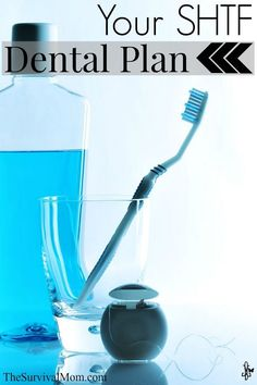 People used to DIE from dental infections! Here are supplies to stock up on, skills to learn for a worst case scenario.
