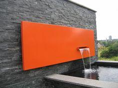 Cascada piscina accesorios pinterest for Cascadas de agua artificiales para jardin