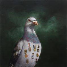 joanna braithwaite highly decorated oil on canvas, stretcher: 1123 x 1123 x 25 mm Modern Magic, Animal Paintings, Oil Paintings, Bird Art, Contemporary Paintings, Pretty Pictures, All Art, Art Inspo, Oil On Canvas