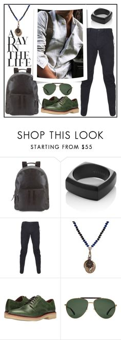 """""""MEN'S STYLE #1"""" by kskafida ❤ liked on Polyvore featuring Cole Haan, Vitaly, Maharishi, Miracle Icons, Frye, Gucci, men's fashion and menswear"""