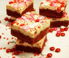 Moveable Feasts: Red Velvet Brownies