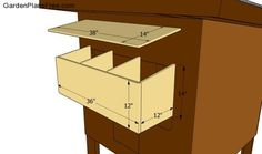 nesting boxes for chickens | Chicken Coop Plans Free | Free Garden Plans - How to build garden ...