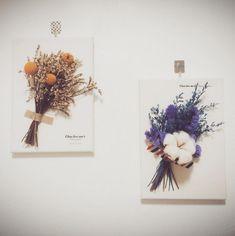 先前介紹了好多漂亮的小花束,每一束都小巧又精緻可愛讓人很想收藏。不過鮮花的壽命在夏天就算利用保鮮劑大概一個禮拜多也是極限了,所以這次來介紹乾燥花,經過乾燥處理的花朵顏色雖然沒有原本鮮豔,但是依然漂亮,而且當它們變成立體花的時候真的超美啊!  像下...