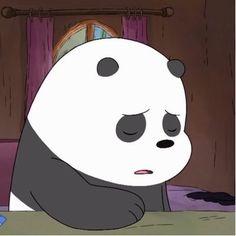 Cute Panda Wallpaper, Bear Wallpaper, Wallpaper Iphone Cute, Disney Wallpaper, Cartoon Wallpaper, Bear Cartoon, Cartoon Icons, Cute Cartoon, Ice Bear We Bare Bears