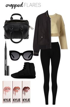 """""""Untitled #375"""" by maritzawaffles on Polyvore featuring adidas Originals, M&S Collection, MANGO, adidas, Butter London, Givenchy, Karen Walker, women's clothing, women's fashion and women"""